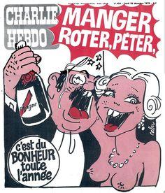 Charlie Hebdo - # 424 - 28 Décembre 1978 - Couverture : Cabu