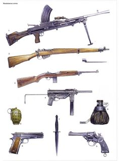 Weapons Used In Ww2 Bing Images Wwii Pinterest Weapons
