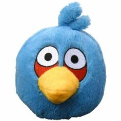 Angry Birds 5 Plush Blue Bird with Sound