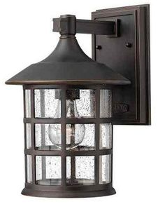Hinkley Lighting 1804 1 Light Outdoor Wall Sconce From the Freeport Collection Oil Rubbed Bronze Outdoor Lighting Wall Sconces Outdoor Wall Sconces