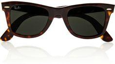 Ray-Ban - The Wayfarer Acetate Sunglasses - Tortoiseshell