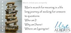 Man's search for meaning of life