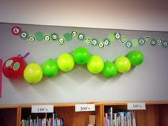 Very Hungry Caterpillar Library Display Idea