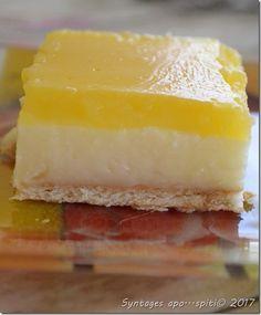 Greek Sweets, Greek Desserts, Frozen Desserts, Greek Recipes, No Bake Desserts, Candy Recipes, Cookie Recipes, Greek Cake, Fridge Cake