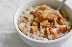 Health, Food and Fitness : Jillian Michaels Steel-cut oats with apples and pecan