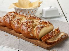 Easter Bread recipe from Food Network Kitchen via Food Network