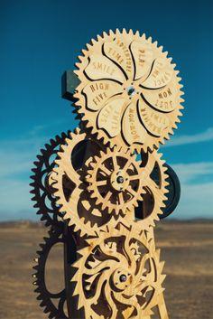 An AfrikaBurn art installation - Karoo, South Africa.