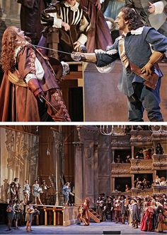 Metropolitan Opera premiered its first production of Franco Alfano's Cyrano de Bergerac on May 13.