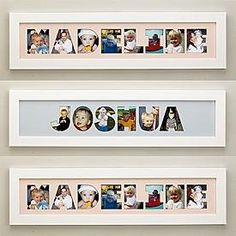 Name Frame Photo Collage diy_crafts