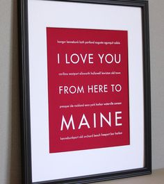 Mainer born and bred! great gift for mom and dad to take to SC with them!