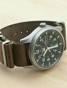 Seiko Snzg13 with custom leather band | Pin by scann R