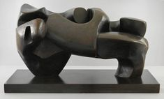 Henry Moore OM, CH, 'Large Slow Form' 1962-8