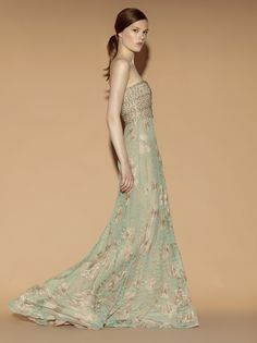 #Valentino Resort 2012  green dresses #2dayslook #green style #greenfashion  www.2dayslook.com