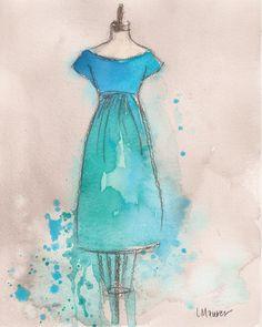 teal, cyan, aquamarine, cerulean, turquoise, cobalt....dresses