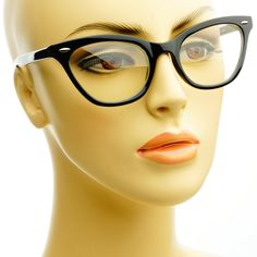 big glasses frames trend ze3s  Clear Lens Retro Cat Eye Glasses Frames Tortoise W402  FREYRS