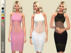 Studs and transparencies by Birba32 at TSR • Sims 4 Updates
