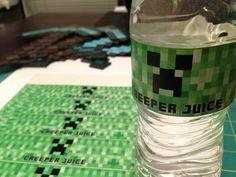 DIGITAL FILE Water Bottle Labels by ChenyasDesigns on Etsy, $5.50