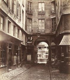 Passage Saint-Guillaume toward the rue Richilieu (First Arrondissement), 1863-65
