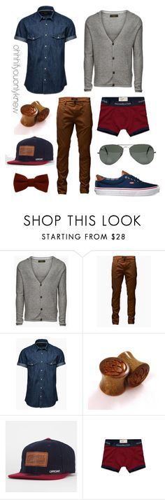 """Untitled #182"" by ohhhifyouonlyknew ❤ liked on Polyvore featuring Jack & Jones, Official, Abercrombie & Fitch and Ray-Ban"