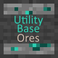 Download Utility Base Ores Mod 1.13/1.12.2/1.11.2 - A fully modular vanilla friendly style utility mod, that adds ores for the different type of drops and food...