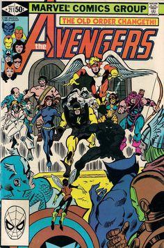 AVENGERS # 211 MARVEL COMICS JIM SHOOTER / GENE COLAN 1981 vf(8.0) ~