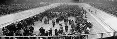 De Vélodrome d'Hiver in Parijs waar alle Joden werden vastgehouden voor de grote razzia1