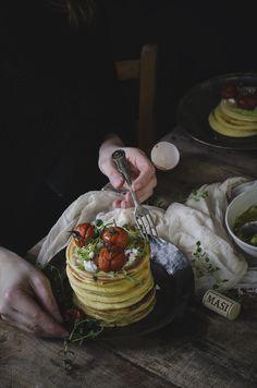 Pancakes salati al cumino, la mia ricetta ispirata al vino Campofiorin di Masi