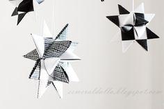 2. luukku: DIY – Perinteinen paperikoriste | Esmeralda's