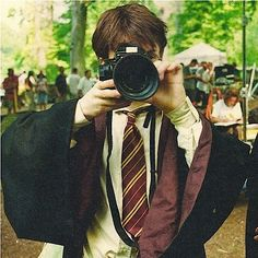 Two of my favorite things in one picture... Photography and Harry Potter