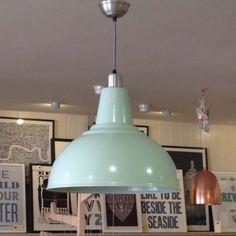 Large Kitchen Ceiling Light - Sea Spray www.willowandstone.co.uk #industrial lighting #light #seaspray