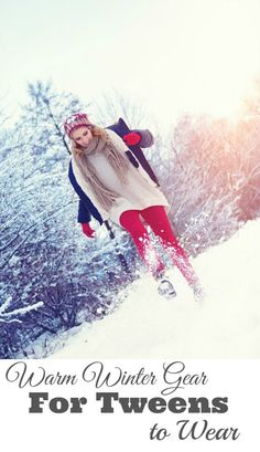 Winter Gear for Tweens to Wear - Who said that warm winter clothing can't be fashionable? We've gathered up great tips for putting together all the winter gear that tweens and parents will love. Keep warm and stay fashionable. It can be done. | Tween | Winter | Parenting a Tween | Outdoor Play for Kids |