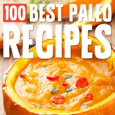 100 Best Paleo Diet Recipes- the best list of Paleo recipes out there. Organized by meal and category. Love it! Best Paleo Recipes, Primal Recipes, Whole Food Recipes, Diet Recipes, Delicious Recipes, Paleo Meals, Paleo Food, Recipes Dinner, Healthy Food