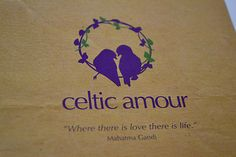 Logo Design for 'Celtic Amour' - A friendship and romance community.
