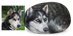 Sassi dipinti con cani | L'arte di dipingere sui sassi di Roberto Rizzo…