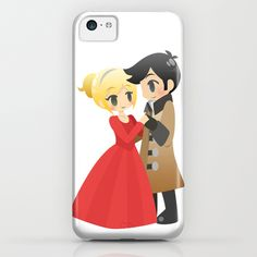 OUAT - Captain Swan Formal iPhone & iPod Case