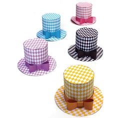 Party hat pattern, party decorations, designs and templates!