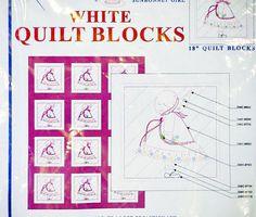 SUNBONNET Girl QUILT BLOCKS53 Jack Dempsey Pattern 180 5-oz