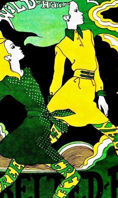 Illustrations by Antonio Lopez (1967)