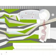 Forum of Granada by Federico Wulff Barreiro & Francisco del Corral « Landscape Architecture Works Landscape Plans, Urban Landscape, Landscape Designs, Architecture Plan, Landscape Architecture, The Plan, How To Plan, Linear Park, Plan Drawing