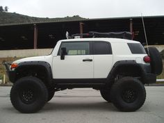 FJ Cruiser w/SAS Mine will never look this good.