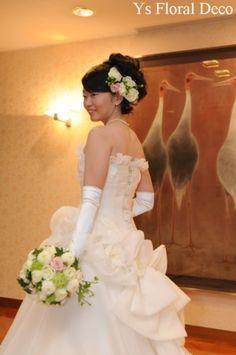 洋装と和装の2way @東京大神宮 ys floral deco