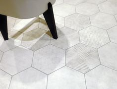 http://www.cir.it/collection/it/70356/Docklands.aspx #dockland #hexagon #decor #pattern #design #tile #ceramic