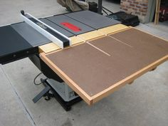 Table Saw Outfeed | Outfeed Table - by Tim Gates @ LumberJocks.com ~ woodworking community