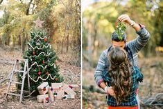 Our First Christmas Tree Ryan Ray Photography love the mistle toe idea Christmas Tree Lots, Christmas Portraits, Family Christmas Pictures, Christmas Couple, Christmas Minis, Outdoor Christmas, White Christmas, Family Photos, Holiday Mini Session