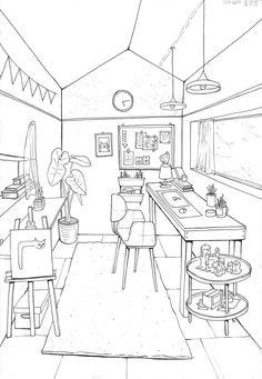 Floor Plans, Diagram, Room Decor, Sketches, Home Decor, Draw, Room Decorations, Decor Room, Doodles