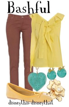 A blog similar to disneybound called Disney This, Disney That. I think I might like it better...the outfits much more wearable and closer to my style.