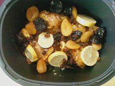 """Amélie, Gourmandises Tupperware: Tajine de Poulet au Citron ~ Recette """"Pressée pas Stressée"""" ~"""