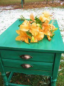 West Furniture Revival: LITTLE MISS TREASURE BOX