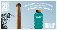 Yes! #SQUEASY estará presente en la próxima edición de @paloaltomarket (Barcelona) Sábado 7 y domingo 8 de marzo. ¡Os esperamos a todos! #design #vintage #market #barcelona