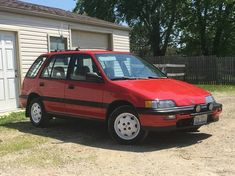 """This 1991 Honda Civic RT4WDis a rare AWD 6-speed example, and despite several dings, dents and scrapes, the interior remains in what's described as """"mint"""" condition, the seller further quouting excellent mechanicals and full functionality of all accessories. Mileage is 138k, which if"""